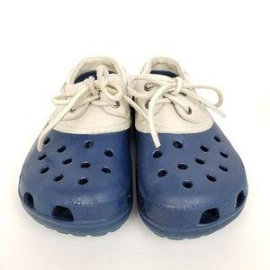 Crocs | islander pit crew | two tone | clogs